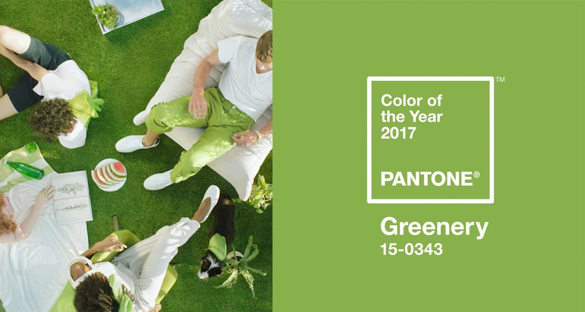 Design Inspiration: impazza la moda del verde, colore Pantone del 2017