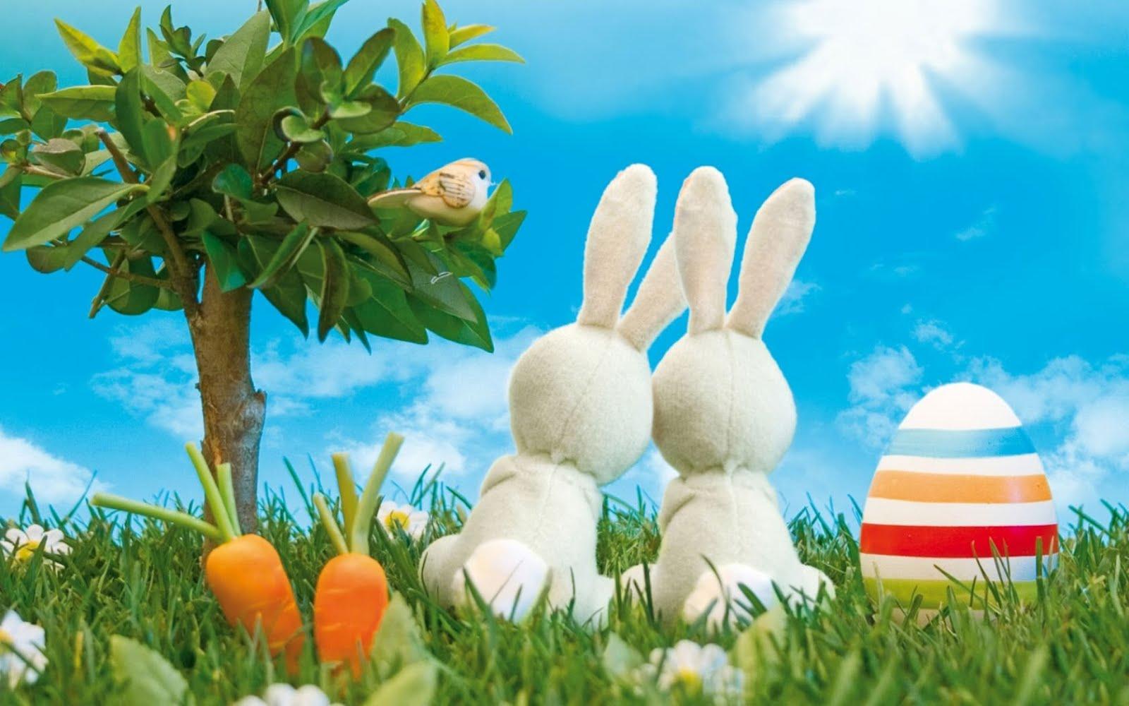 pasqua coniglietti immagine di auguri