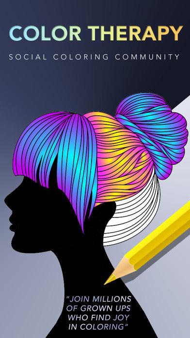 Color Therapy, l'app rilassante per colorare disegni in armonia