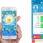 Fight List App