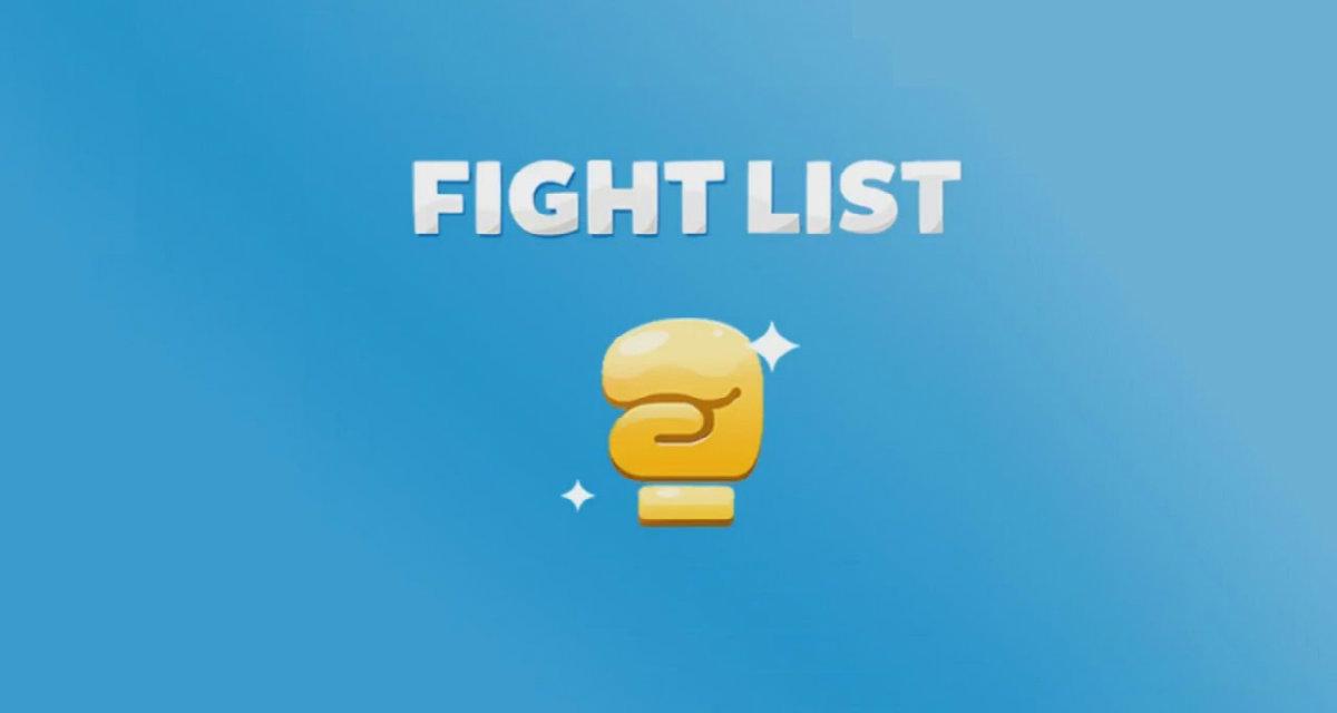 Fight list soluzioni, tutto quello che devi sapere