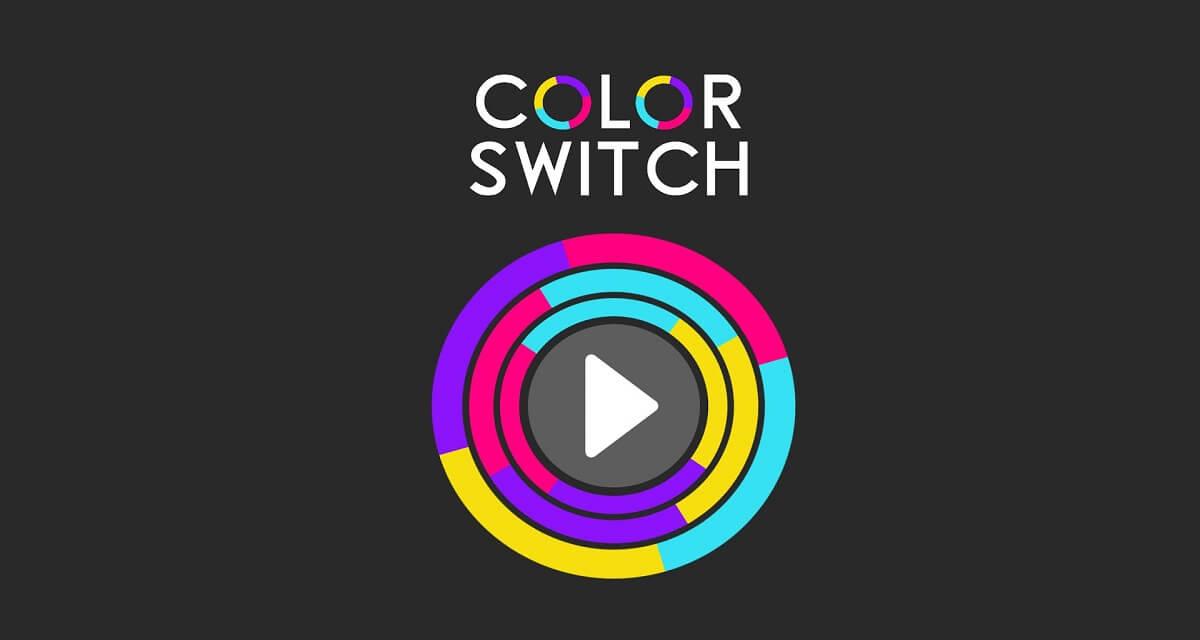 Color Switch app, il nuovo gioco per divertirsi con gli amici