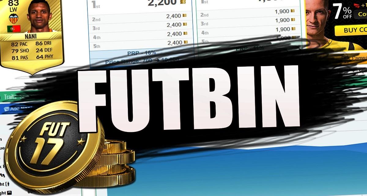 Futbin Fifa 17, il sito per analizzare il calciomercato