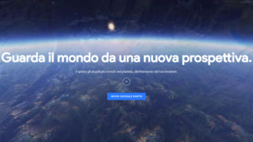 nuovo google earth