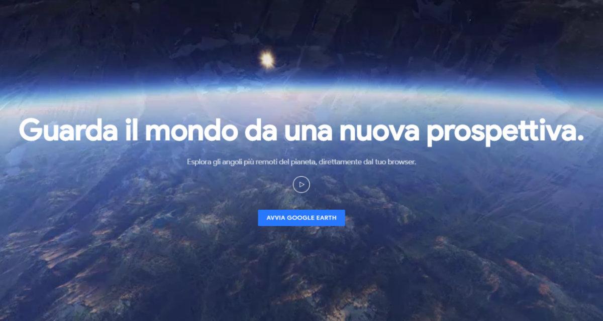 Il nuovo Google Earth è un viaggio fantastico intorno al mondo