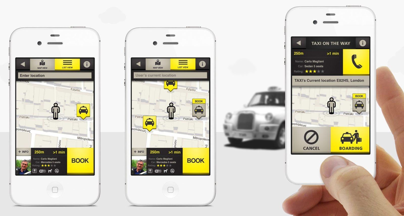 Taxi app: come funzionano e come si usano le app che sfidano Uber