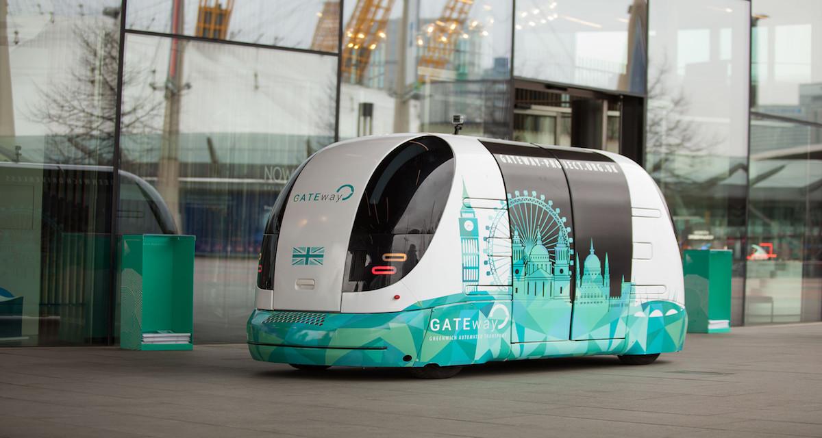 A Londra arrivano i mini bus senza guidatore