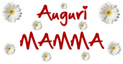 auguri festa della mamma 2017 margherite