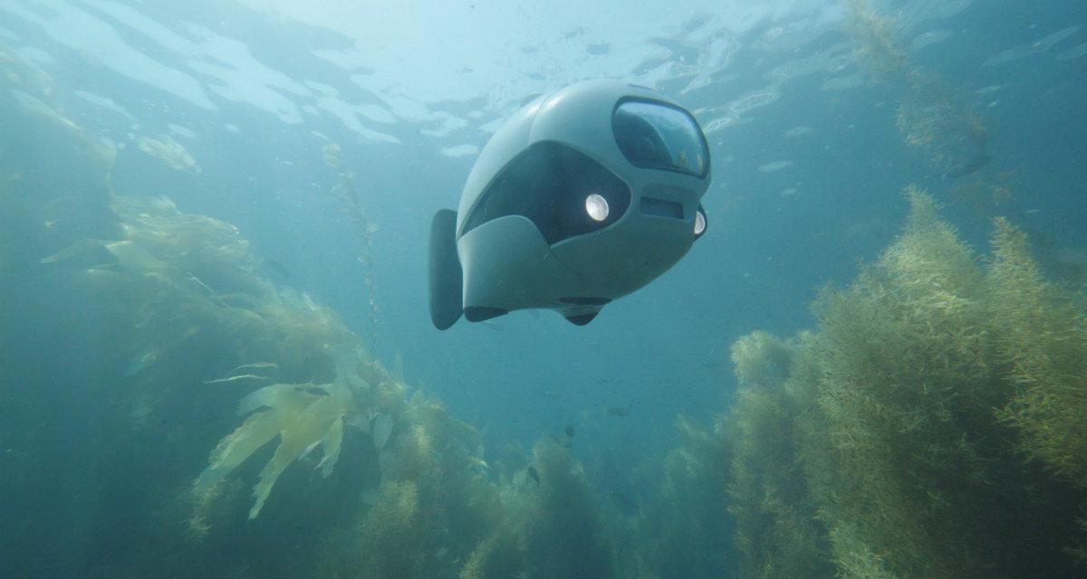 Biki, il gadget drone per fare riprese subacquee