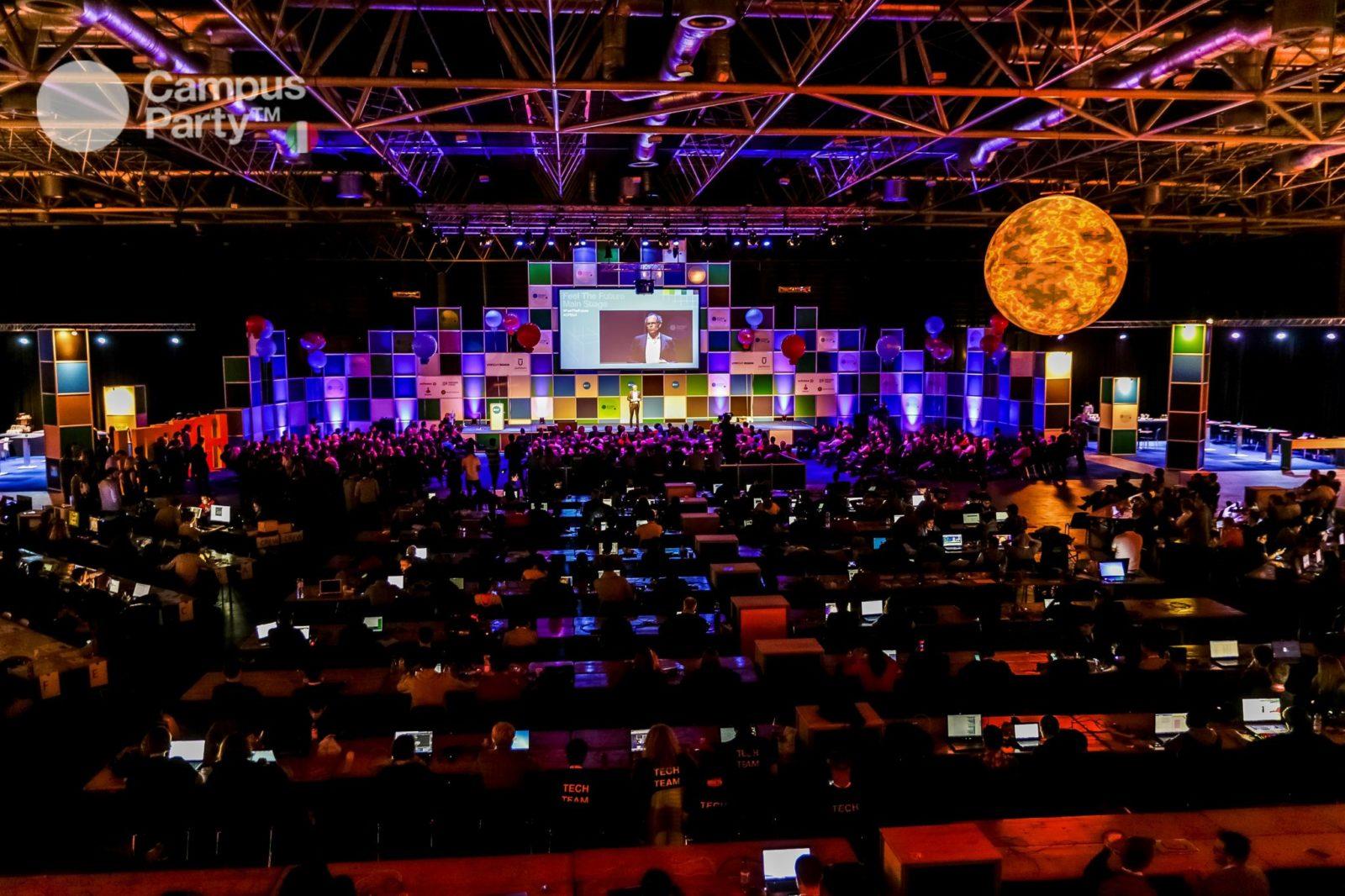 Campus Party 2017, arriva a Milano dal 20 al 23 luglio