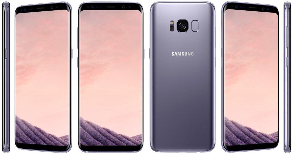 Samsung Galaxy S8 sfondi, i wallpaper ufficiali da scaricare
