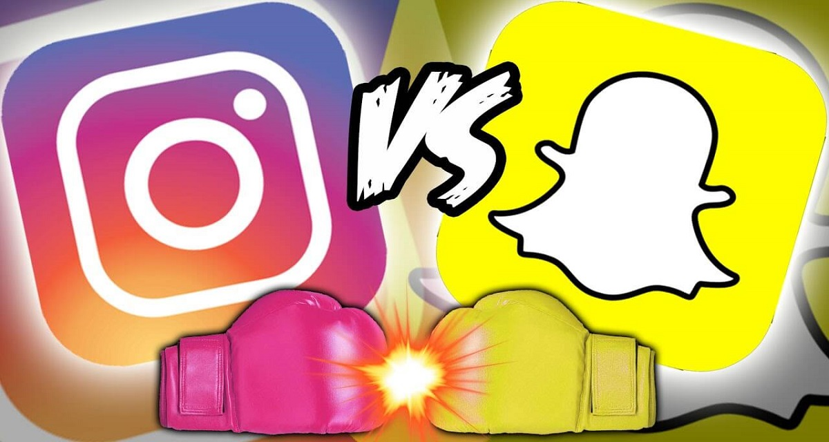 Snapchat vs Instagram: il visual social network vince il confronto