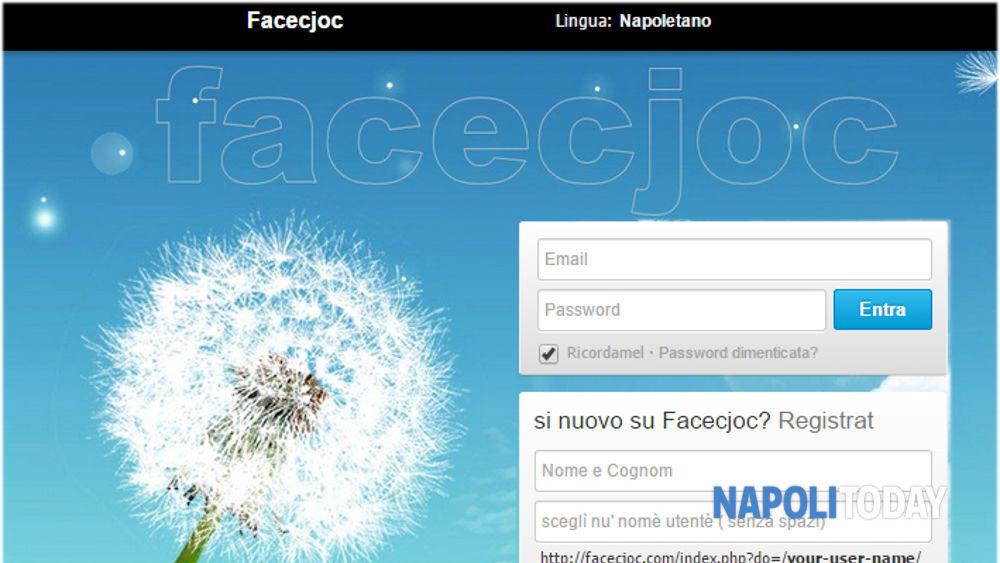 Facecjoc social network: la community che parla dialetto