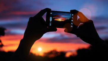 fare foto con lo smartphone