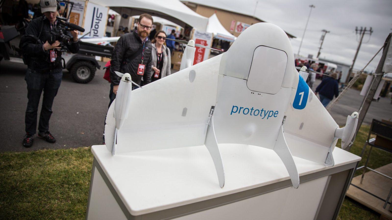 Project Wing: la tecnologia per i Droni del laboratorio X di Google