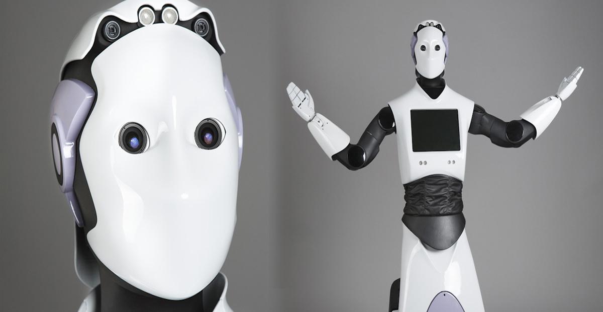 Robot poliziotto, REEM: il primo agente robot a Dubai