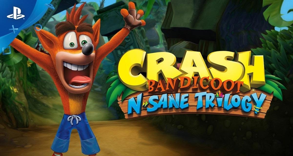 Crash Bandicoot, la trilogia rimasterizzata su PS4