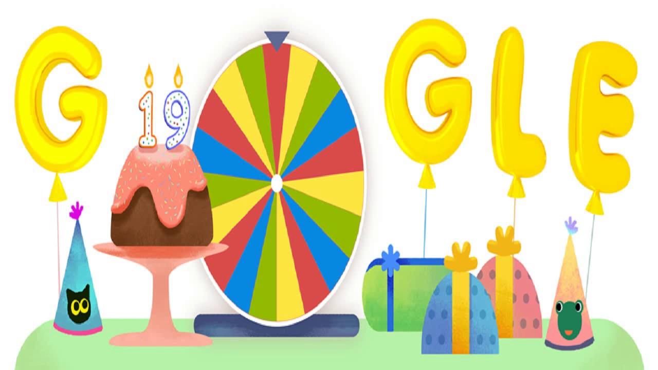 Buon Compleanno Google: e si festeggia così