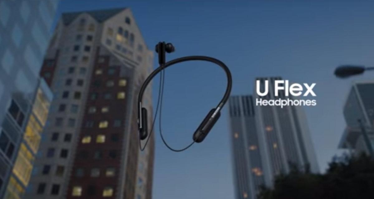 Cuffie bluetooth U Flex, il nuovo accessorio di Samsung