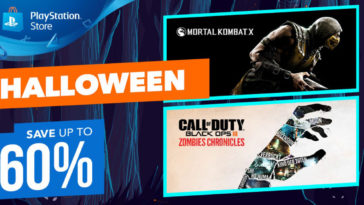 PlayStation sconti Halloween 2017