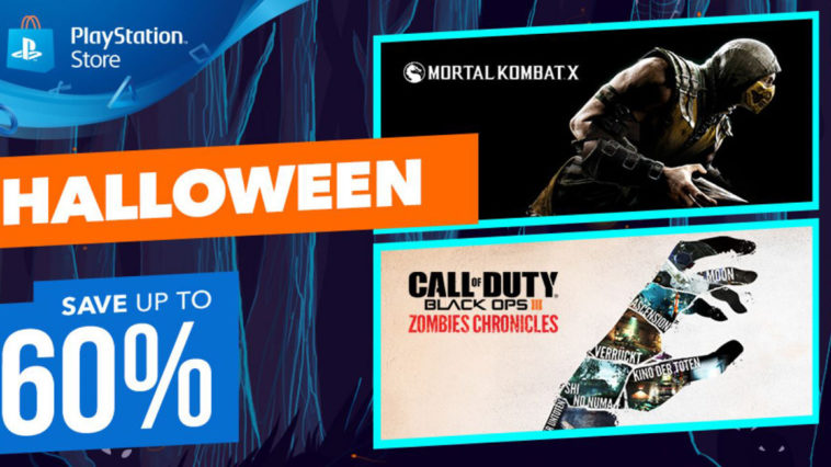 PlayStation sconti Halloween 2017