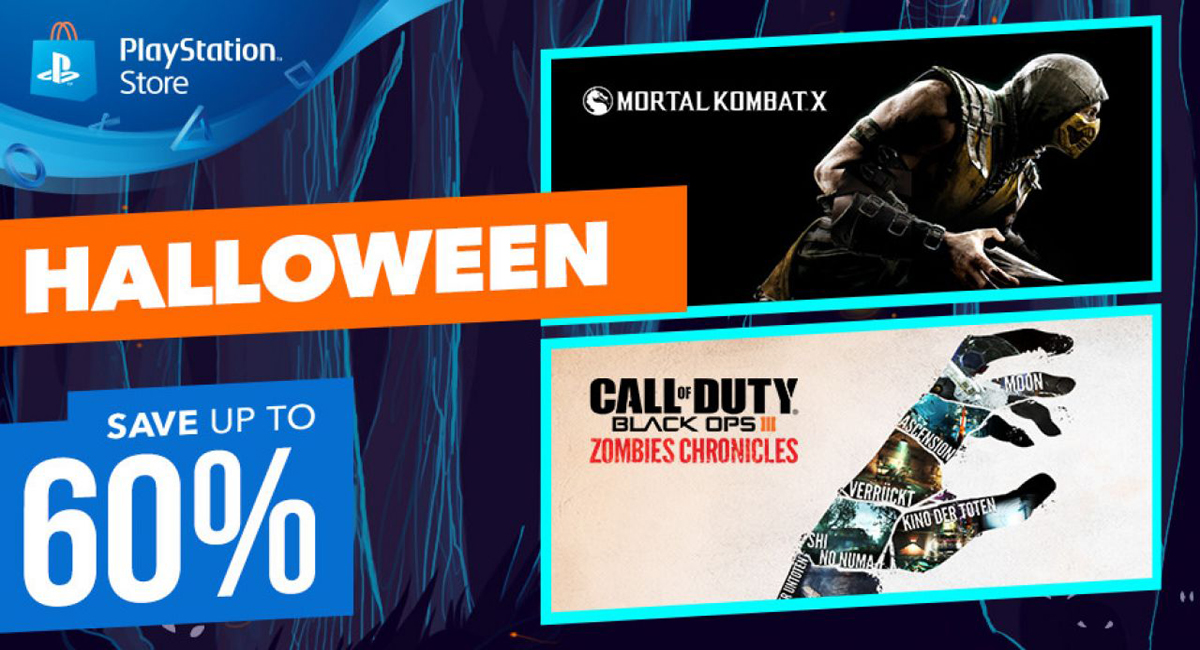 PlayStation sconti Halloween 2017: disponibili offerte da paura