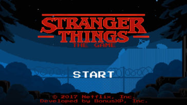 Stranger Things gioco