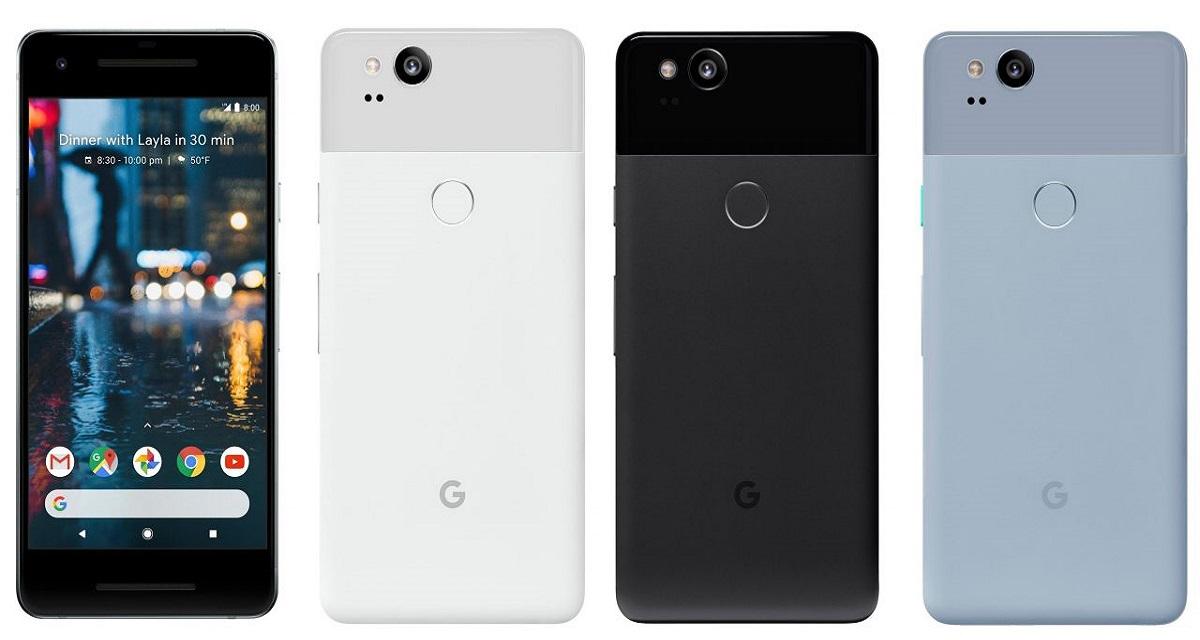 Google Pixel 2 è realtà. In Italia forse a novembre