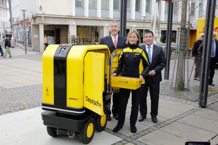 Postbot: in arrivo i postini robot in Germania