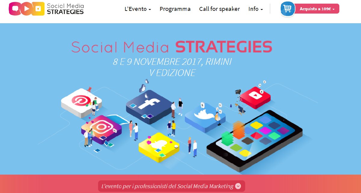 Social Media Strategies a novembre a Rimini