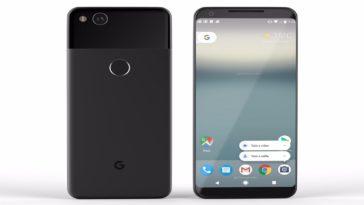 Google Pixel e Google Pixel 2
