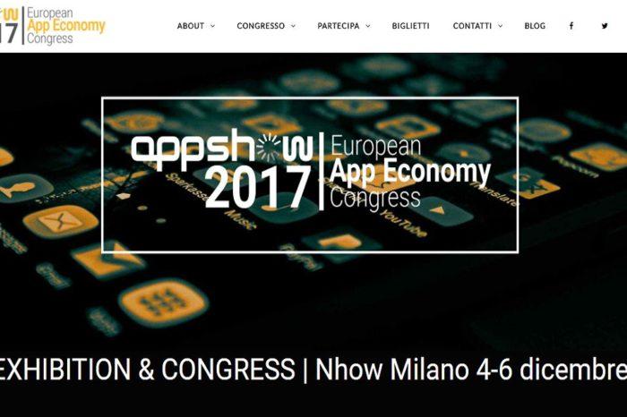 AppShow 2017, l'evento a Milano dedicato all'app economy