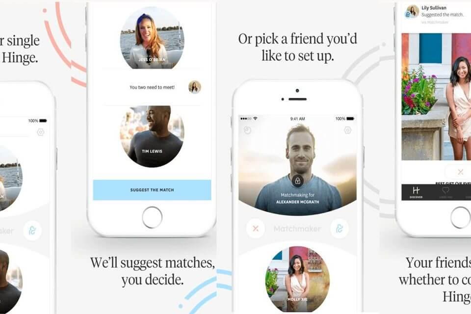 Hinge Matchmaker: l'app social per mettere in contatto gli amici single