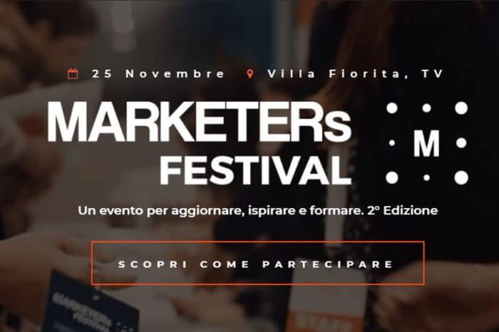 MARKETERs Festival 2017, una giornata di formazione digital a Treviso