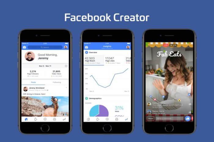 Facebook Creator, arrivano nuovi strumenti per i video e analitycs