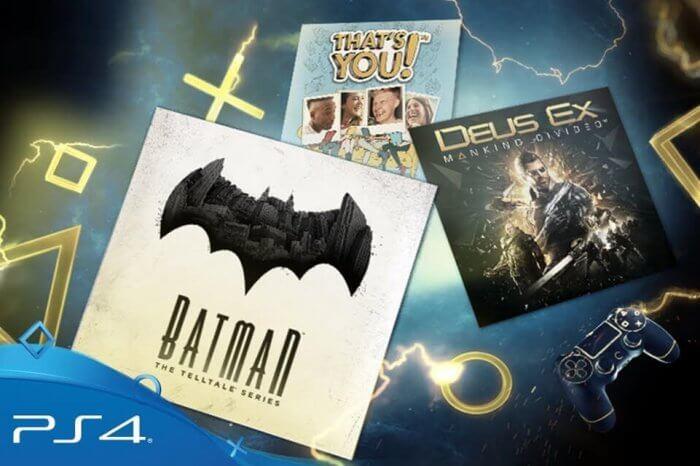 PlayStation Plus gennaio 2018: ecco i giochi gratis del mese