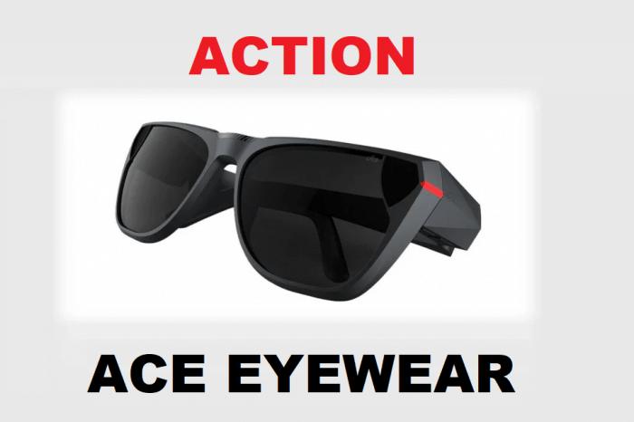 Ace Eyewear: gli occhiali tech per video live