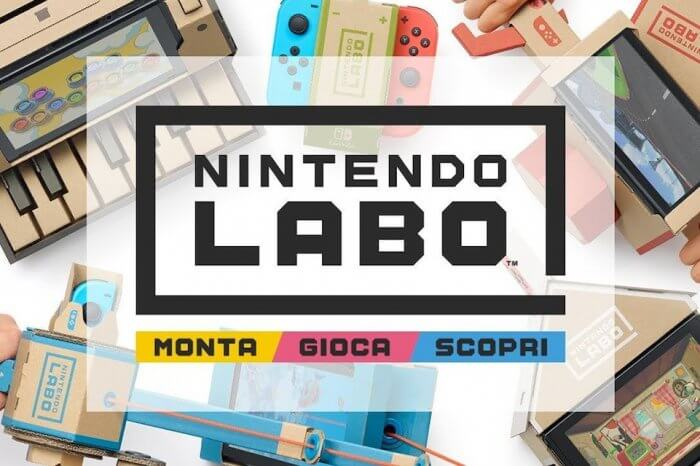 Nintendo Labo sold-out su Amazon: cos'è e come funziona