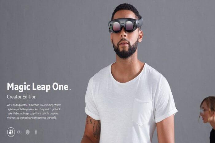 Magic Leap One visore realtà aumentata: prezzo e curiosità