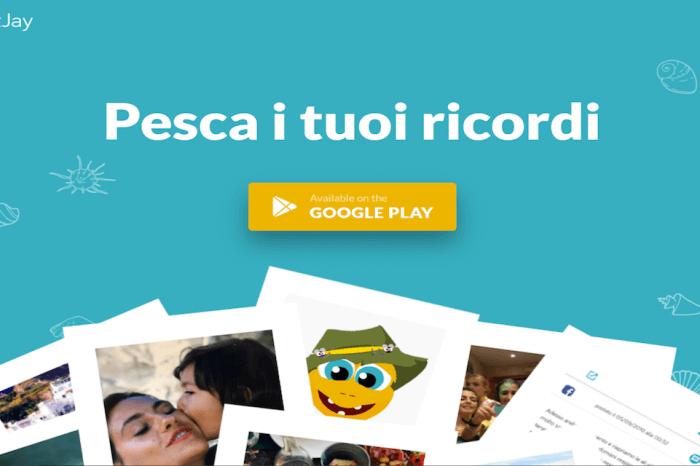 BaitJay: l'app per riscoprire i nostri ricordi sui social network