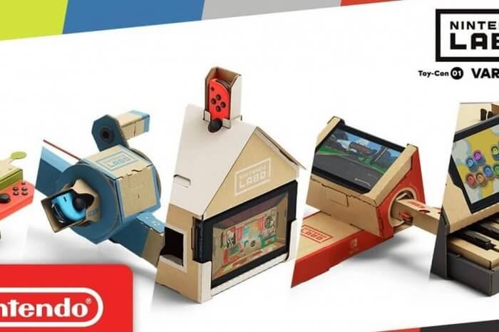 Nintendo Labo Variety Kit, la creatività a misura di bambino