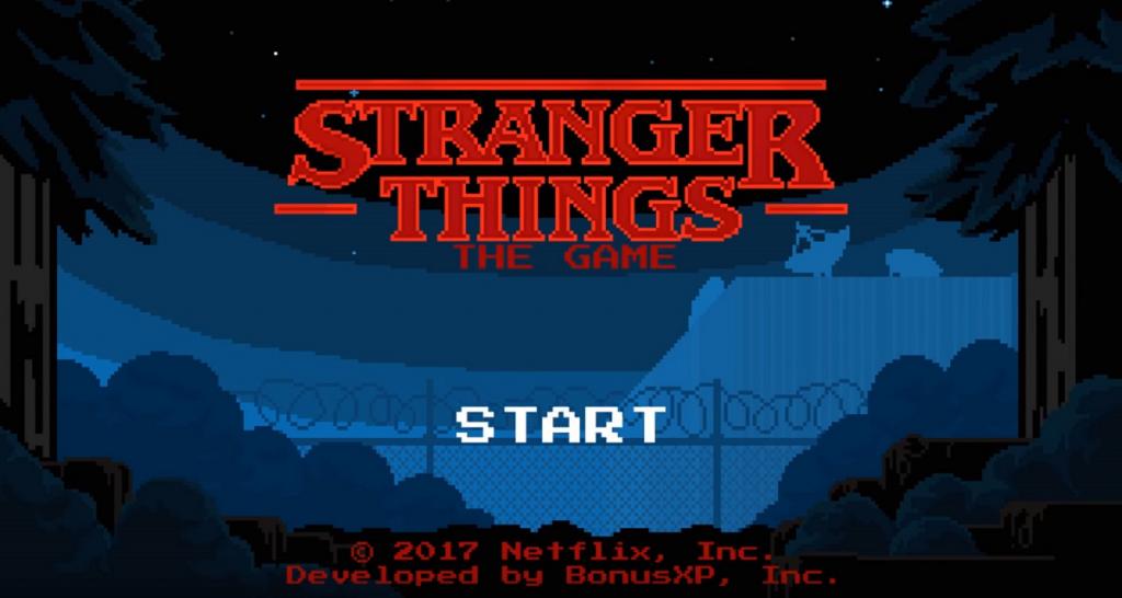 Stranger Things Videogame
