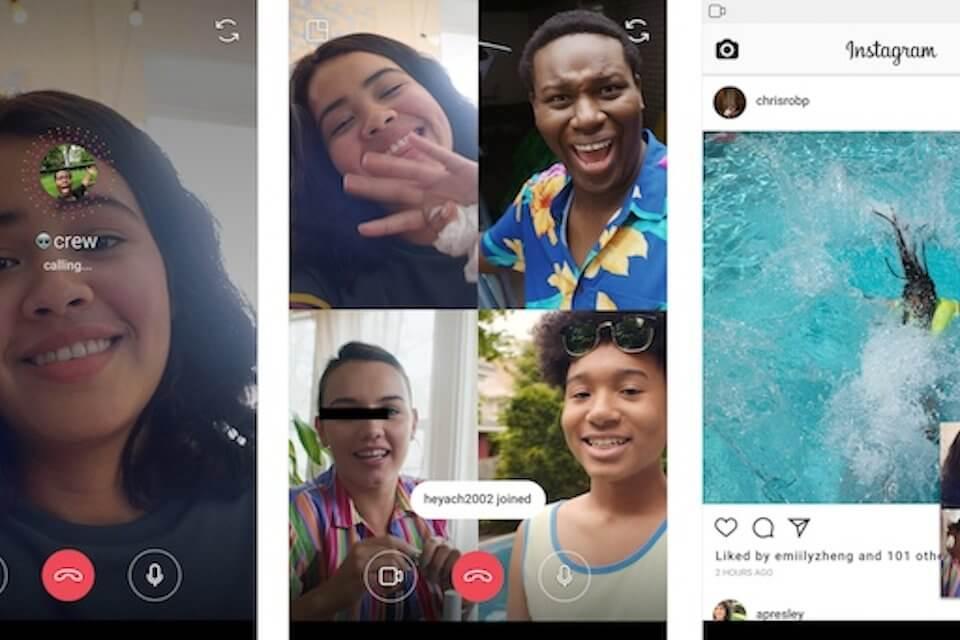 Instagram chat di gruppo