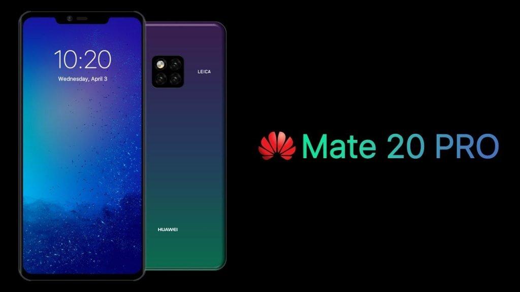 Nuovi Huawei Mate 20