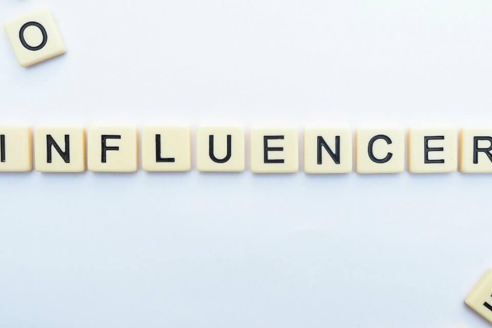 influencer sui social media